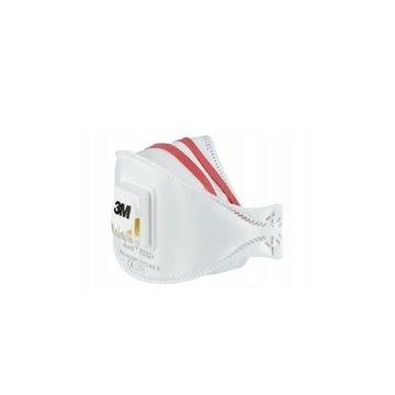 maska maseczka 3m ffp3 Aura 9332+  antywirusowa