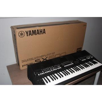 Keybaord Yamaha PSR SX 600 na gwarancji!