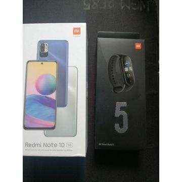 NOWY Xiaomi Redmi Note 10 5G + opaska MiSmart 5