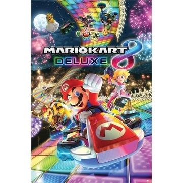 Plakat Mario Kart 8 - Deluxe 61,5x91