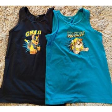 koszulki bez rękawów 110-122
