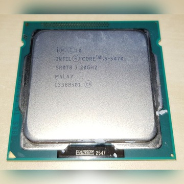 Intel Core i5-3470 3.2GHz 6MB cache