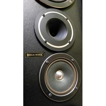 Kolumny stereo Mega-Sonic 8Ohm / 100W - głośniki