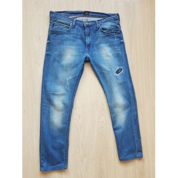Spodnie jeansowe Lee slim W34 L34