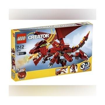 Lego Creator 6751 Fiery Legend Smok