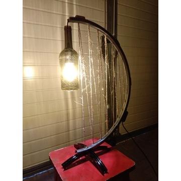 Upcyklingowa lampa Niepowtarzalna