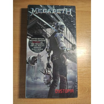 Megadeth - Dystopia limited edition package VR