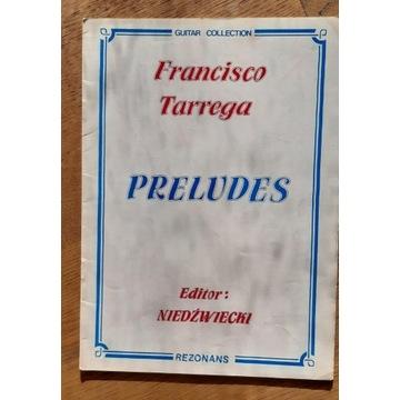 Francisco Tarrega - 15 preludiów na gitarę