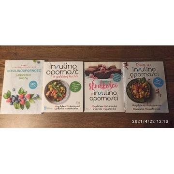 Książki, dieta, insulinooporność