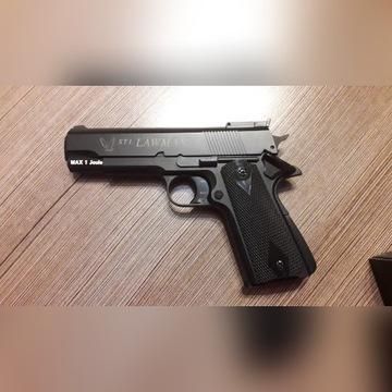 Pistolet asg STI Lawman czarny