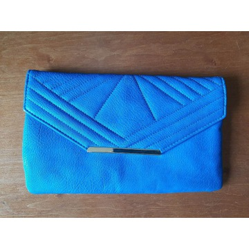 Niebieska kopertówka torebka New Look