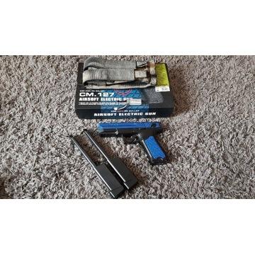 CM.127 MOSFET LiPo dodatkowe magazynki i ładownica