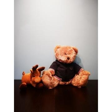 Pluszowy Renifer i Teddy SCANIA maskotki orginał