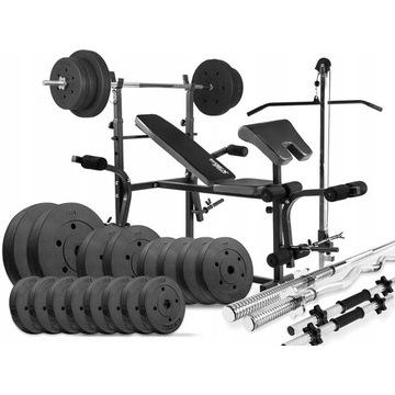 Zestaw POWER TREX 96kg + Zestaw TREX 66,5 kg.