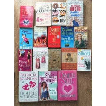 17 książek anglojęzycznych - zestaw