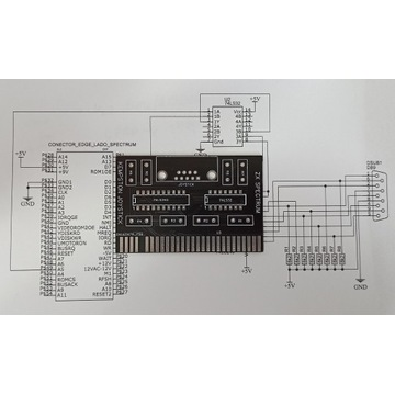 PCB Kempston Joystick ZX Spectrum