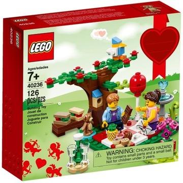 LEGO 40236 ROMANTYCZNY PIKNIK WALENTYNKI