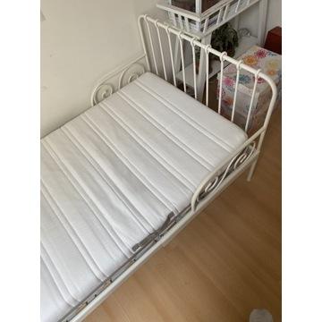 Łóżko Ikea Minnen z materacem