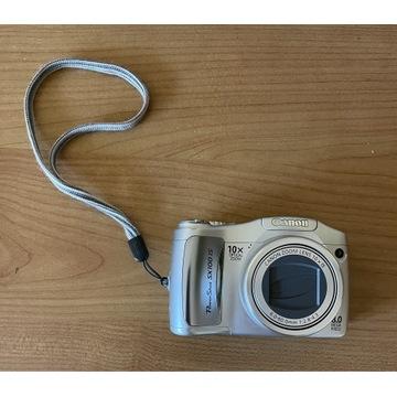 Canon Powershot SX100 IS zoom optyczny x10