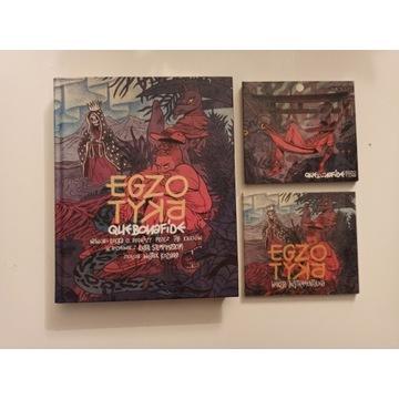 QUEBONAFIDE EGZOTYKA CD DVD KSIĄŻKA INSTRUMENTALNI