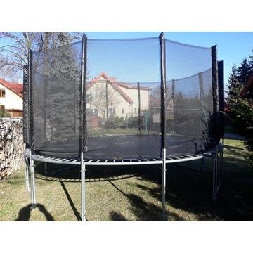 Trampolina batut 460cm 4,6m 6 nog duża ogrodowa