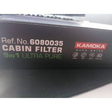AUDI A6 filtr kabionowy kamoka