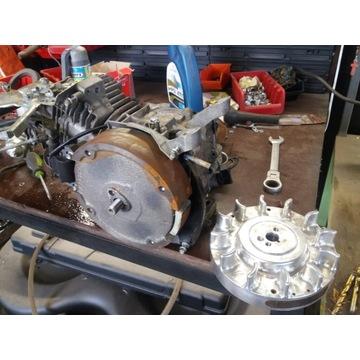 Trajka gokart ARC koło zamachowe aluminium tuning