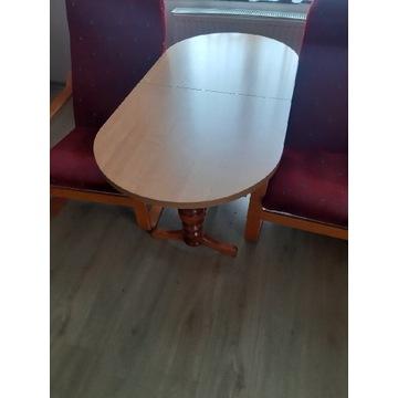 Stół z fotelami
