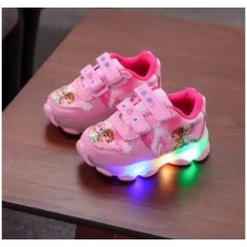 Adidasy trampki dziecko frozen LED od 21 do 30