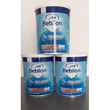Bebilon bez laktozy 3 opakowania