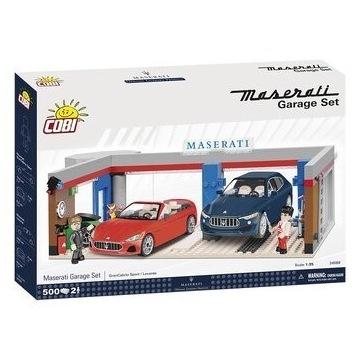 Cobi Cars, klocki Maserati Garage, 24568