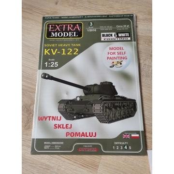 KV-122 Extra model 1/25 + lasery
