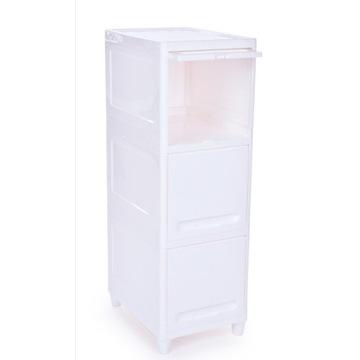 Regał/szafka z zamykanymi półkami 3półki wys.90cm