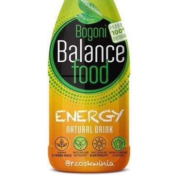 Napój energetyzujący BBF ENERGY brzoskwinia