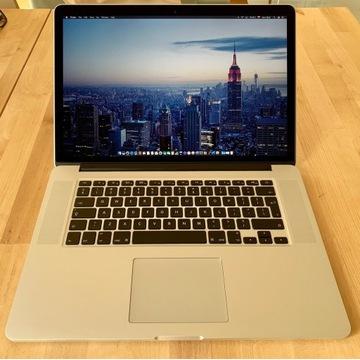 Apple MacBook Pro 15 2.2GHz i7 16GB 256GB 2015
