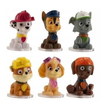 Figurki na tort psi patrol