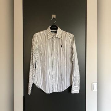 Ralph Lauren biała koszula w paski S