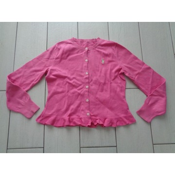 RALPH LAUREN sweterek rozowy 134