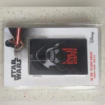 Star Wars Kylo Ren PENDRIVE 32GB karta kredytowa