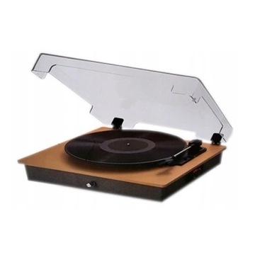 Klasyka słuchania Gramofon Hykker BT-TT