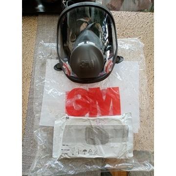 Maska pełnotwarzowa 3M seria M 6800 Rozmiar: M