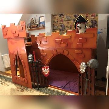 Łóżko - zamek
