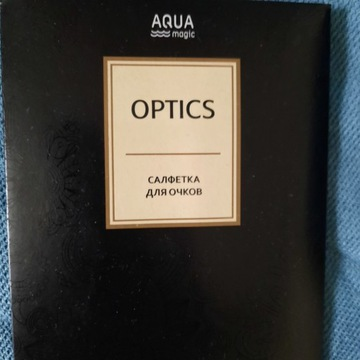 GreenWay OPTICS. Chusteczka do okularów.