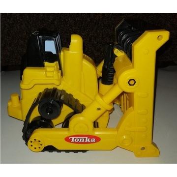 zabawka buldożer pojazd budowlany buldożer Tonka