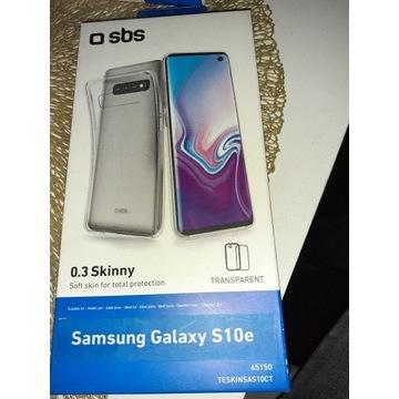 Etui silikonowe Samsung Galaxy s10 e