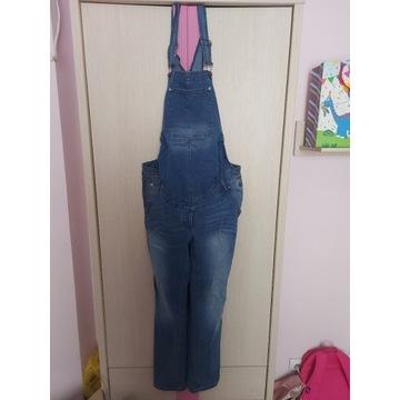 Spodnie ogrodniczki ciążowe bonprix