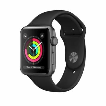 Apple Watch seria 3 42 mm ( szary )