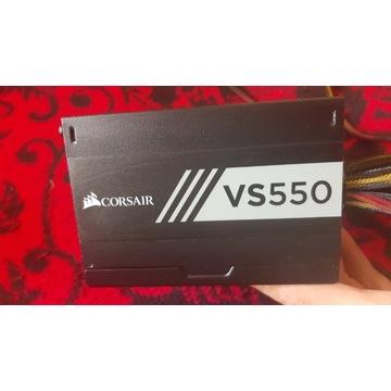 Zasilacz Corsair VS550 550W 80PLUS