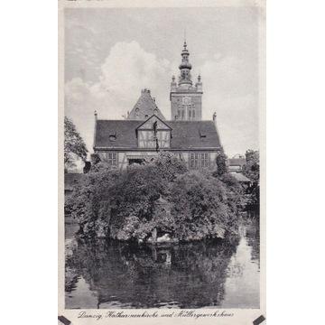 Pocztówka - Gdańsk (Danzig) - Katharinenkirche
