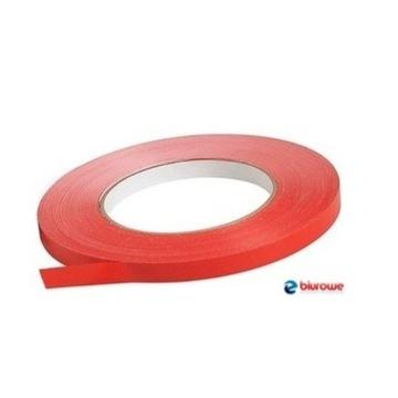 Taśma samoprzylepna czerwona SMART PVC 9mm x 66y